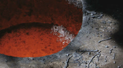 Foundry molten metal Stock Footage