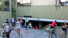 Stock Video Footage of Street of Liberty -Sao Paulo 2013