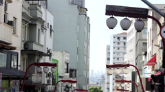 Street of Liberty -Sao Paulo 2013 Stock Footage