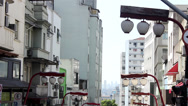 Stock Video Footage of Street of Liberty -Sao Paulo 2013