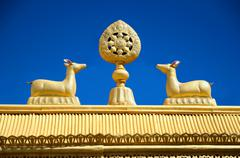 Buddhist symbols Stock Photos