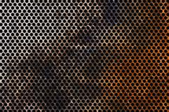 Corroded metal grid Stock Photos