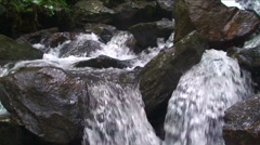 Waterfall Close Up - stock footage