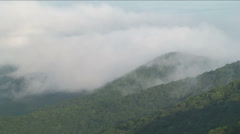 Mountain View and Clouds Stock Footage