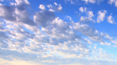 Running clouds (Time Lapse) Stock Footage