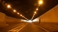 Tunnel drive timelapse Gran Canaria HD Footage