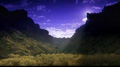 Colorodo Rockies, still shot of valley Stock Footage