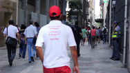 Stock Video Footage of Street of Sao Paulo City - Santa Efigenia