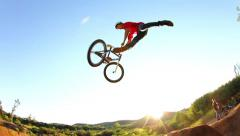 BMX Tailwhip (Slow Motion) Stock Footage