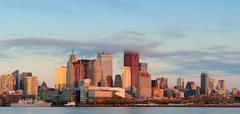Toronto auringonnousu Kuvituskuvat