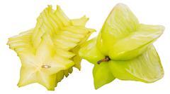 Starfruit or Carambola Stock Photos