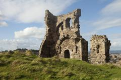 stone building ruins - stock photo