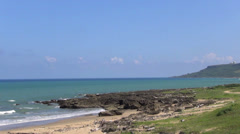 Coastline of kenting national park .taiwan Stock Footage