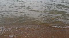 Itkul big lake in Khakassia Stock Footage