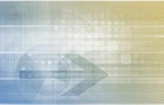 Digital identity management Stock Illustration