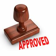 approved - stock illustration