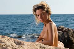 Stock Photo of beautiful naked woman