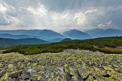 Carpathians mountains Stock Photos