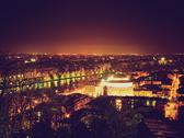 Stock Photo of retro look turin view