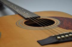 Acustic guitar Stock Photos