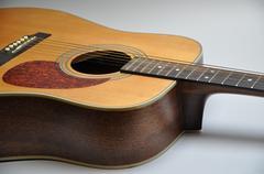 Acustic guitar - stock photo