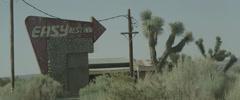 Desert Rest Stop Stock Footage