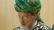 Stock Video Footage of Talgat Tadzhuddin - chief Mufti of Russia