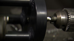 Metal Drilling Stock Footage