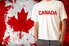 Canada flag Stock Photos