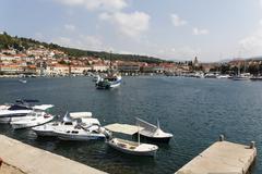 Vela luka port korcula island dalmatia croatia Stock Photos