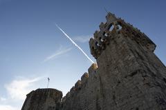 Stock Photo of kamerlengo castle and fortress, trogir, dalmatia, croatia, europe