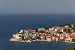 igrane in dalmatia, croatia, europe - stock photo