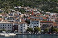 Stock Photo of makarska harbour, croatia