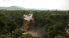 Blue Nile Falls 3 - stock footage