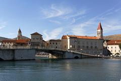 Stock Photo of trogir harbour, dalmatia, croatia, europe
