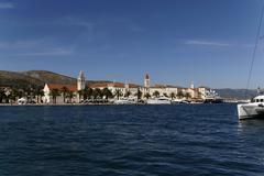 Stock Photo of trogir harbour, dalmatia, croatia, europe