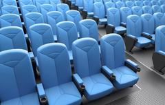 Auditorium - stock illustration