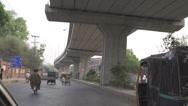 Stock Video Footage of Traffic Under the bridge