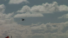 Typhoon flying low Stock Footage