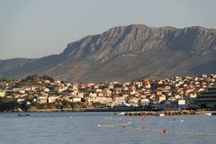 split, croatia - stock photo