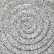 circle spiral stone texture - stock photo