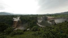 Blue Nile Falls 5 Stock Footage