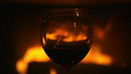 Stock Video Footage of Glasse of wine