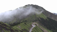 Hehuanshan National Forest park . taiwan Stock Footage
