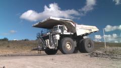 Mining Dump Truck Australia Stock Footage
