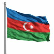 Stock Illustration of flag of azerbaijan