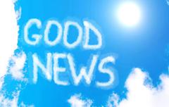 Good news! Stock Illustration