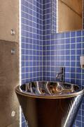 Stock Photo of sink in cosy bathroom