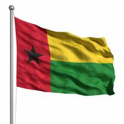Stock Illustration of flag of guinea-bissau