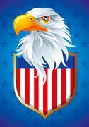 USA Eagle Stock Illustration